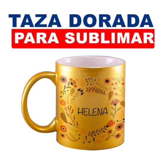 TAZA-DORADA