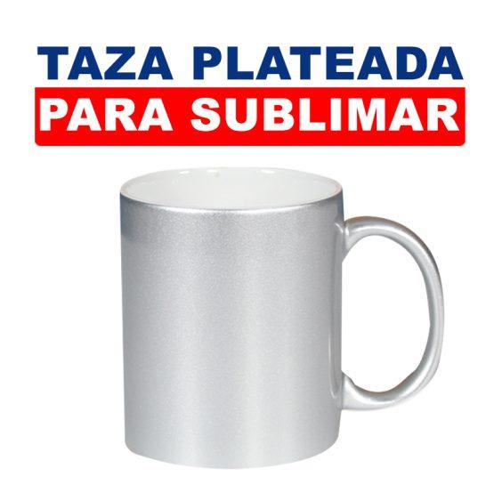 TAZA PLATEADA