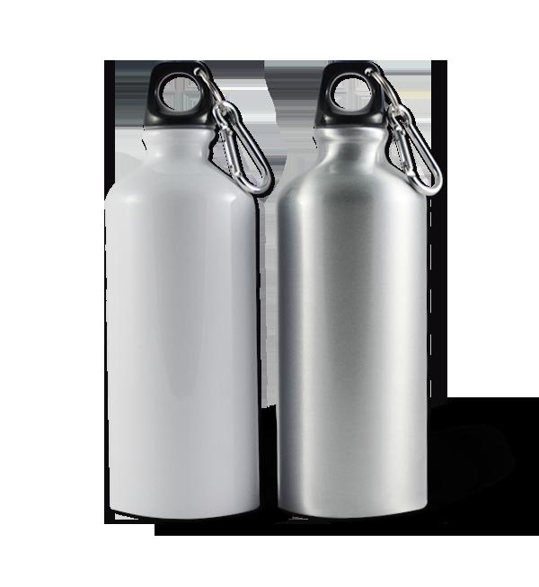 Botella deportiva de aluminio de 600 ml para sublimar