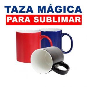 Taza mágica para sublimar