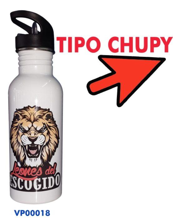 TERMO TIPO CHUPI BLANCO