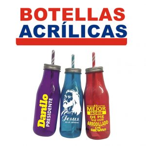 Botellas Acrilicas