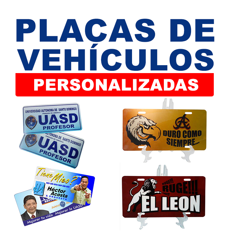 Placas de Vehiculos