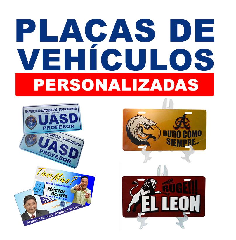 Placas de Vehiculos